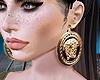 [D]   Earring Gold Lisa