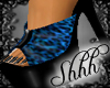 **Leopard - Blue