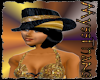 (MT)UrbanPimp Hat Gold