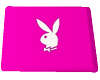 Pink Tri Flat Bunny Rug