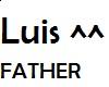 Luis Head Sign