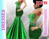 Green Venga Gown