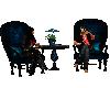 Lovers coffee chairs
