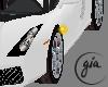 Black White Lambo Car