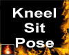 HF Kneel Sit Pose