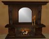 Fireplace Tudor Antique