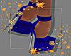 Winter Blue Heels