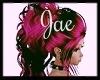 (JAE)Pink Blk Curls
