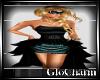 Glo* Elisa Dress~Aqua/B