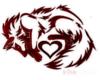 Red Fox back tattoo