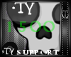 *TY 1500cr support