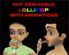 DRV M/F Anime Lollipop