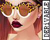 ! Leopard Glasses