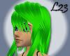 L23 Green Hair Andi