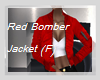 P5* Red Bomber Jacket /F