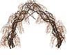Autumn vine arch