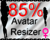 *M* Avatar Scaler 85%