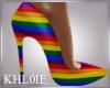 K gay pride lgbt heels