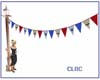 CLBC party pennants
