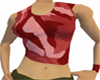 Camo Wife Beater Red