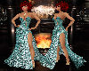 MR Emerald Glitter Gown