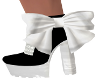 Fane Black/White Boots