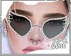 Black Studded Glasses