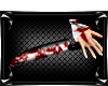 !S! Bloody kitchen knife