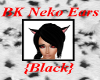 BK Neko Ears - BLK