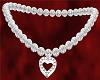 Diamond Heart Silver