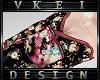 V' +Flower Kimono+