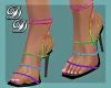 Pride Strappy Heels