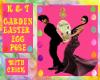 Garden Easter Egg Pose