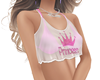 princess top pink & whit