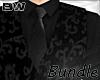 Black Wedding Vest Bundl