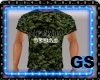 """GS"" CAMO ARMY SHIRT S"