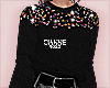Sequin Jumper black