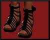 $A$ black sandal