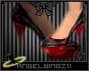 [AZ] Rasberry Disco Heel