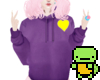 F.| Purple sweater <3