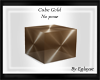cube gold no pose