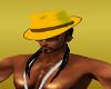 Mustard & Brown Hat