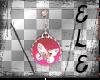 [Ele]Pink Butterfly Ear