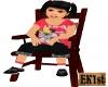 Cute Girl Sitting