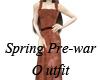 Pre-War Spring Dress