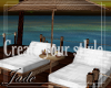 #White Pool& Beach bed