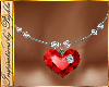 I~Ruby Heart Necklace