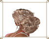 wedding hair blond