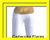 Caderona-White Flares