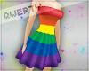 !Q! Pride Short Dress H